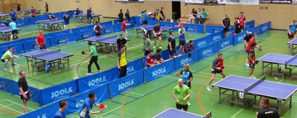 Tischtennis im Bezirk Alb